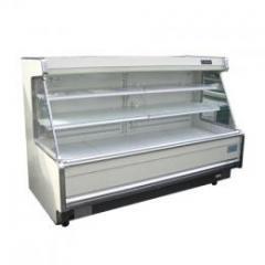 6尺冷蔵ひな段オープンケース